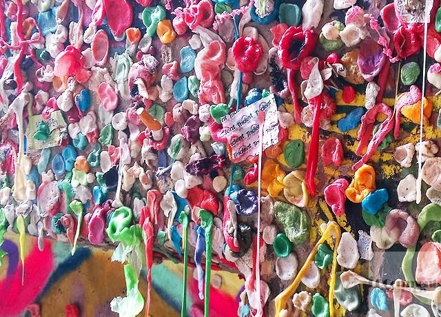 西雅圖/全球最噁景點:派克市場Pike Place Market口香糖牆Gum wall @LPComment 科技生活雜談