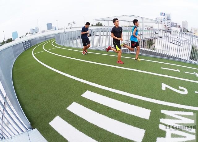 大阪/你逛街、我跑步:森之宮Q's Mall空中跑道 @LPComment 科技生活雜談