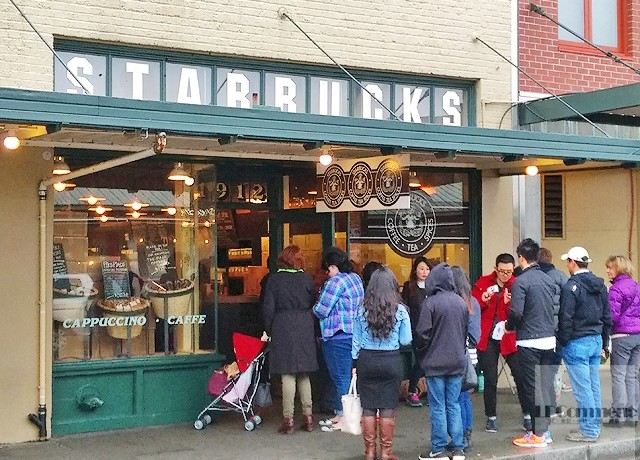 西雅圖/連鎖咖啡的王者、文青力的頂峰!走訪星巴克創始店@Pike Place Market @LPComment 科技生活雜談