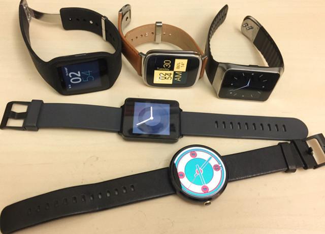觀點/五款ANDROID WEAR平台智慧型手錶比一比【MASH-DIGI】 @LPComment 科技生活雜談