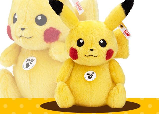 Steiff x Pokémon:史泰福皮卡丘在日本推出,首批限量1000隻 @LPComment 科技生活雜談