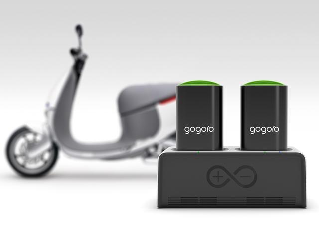Gogoro GoCharger™智慧電池座隨時隨地讓車主自由充電再奔馳