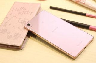 Sony Xperia Z5 Premium玫瑰石英粉新色上市 實機動手玩 @LPComment 科技生活雜談