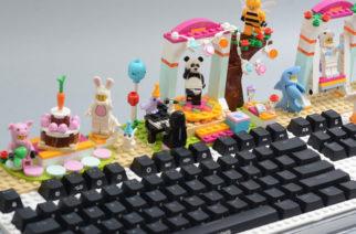 除了打字之外還可以玩樂高!i-Rocks Fun積木鍵盤動手玩 @LPComment 科技生活雜談