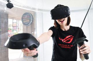 全台首間VR遊戲網咖!「敢覺視界FuVision VR空間」中壢開幕 @LPComment 科技生活雜談