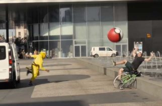 《Pokémon Go》的反撲!皮卡丘使用超大寶貝球對人類展開報復 @LPComment 科技生活雜談