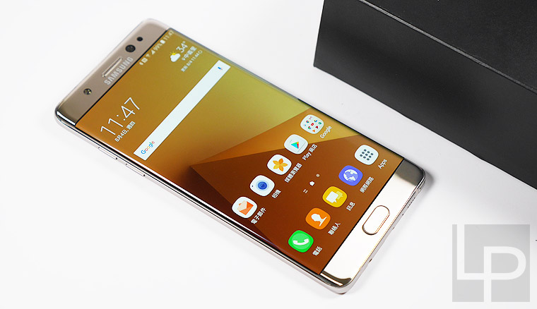 Samsung Galaxy Note 7 琉光金