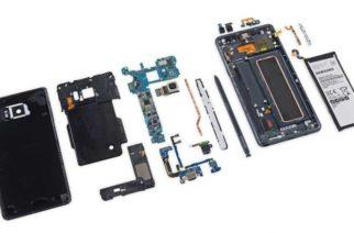 iFixit完成Samsung Galaxy Note 7拆解 多項零件沿用S7 @LPComment 科技生活雜談