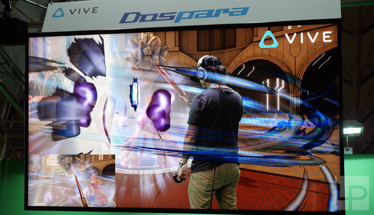 TGS 2016 HTC Vive 攤位展出內容 - 乖離性百萬亞瑟王 VR