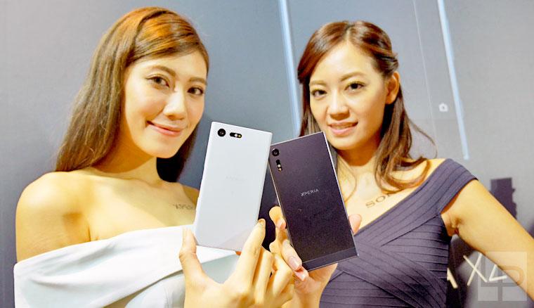 Sony Xperia XZ 與 Xperia X Compact