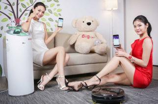 WiFi連線更方便!LG發表遠控版CordZero掃地機器人與PuriCare大白空氣清淨機 @LPComment 科技生活雜談