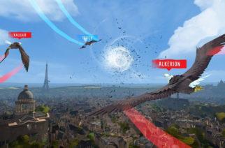 化身獵鷹翱翔巴黎上空!Ubisoft首款VR遊戲 《獵鷹翱翔VR》繁體中文版上市 @LPComment 科技生活雜談