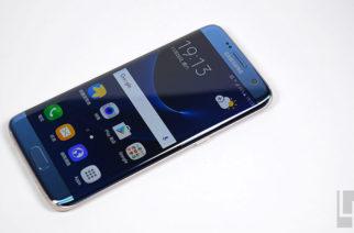 維持裸機質感手感!三星S7 edge冰湖藍全機包膜+螢幕保護貼 @LPComment 科技生活雜談