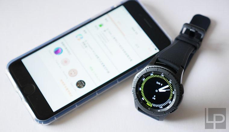pretty nice 3b1cd 51e22 動手玩/Samsung Gear S3與iOS(iPhone 7Plus)配對實測- LPComment 科技 ...