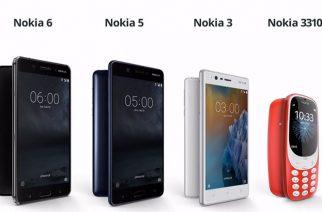 經典型號再現!HMD發表Nokia 3310功能機與Nokia 3、5兩款原生安卓機 @LPComment 科技生活雜談