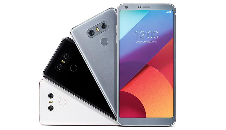 LG G6正式發表:強調5.7吋18:9可單手操作、配備雙鏡頭與IP68防水防塵