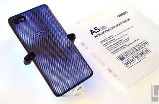 Alcatel A5 LED模組化手機動手玩:閃爍燈光秀是一大「亮」點 @LPComment 科技生活雜談