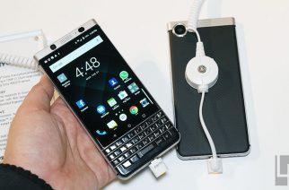 實體QWERTY鍵盤經典造型:BlackBerry KEYone黑莓新機動手玩 @LPComment 科技生活雜談