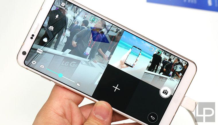 LG G6動手玩:回歸主流路線的超寬螢幕防水雙鏡頭手機