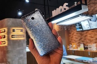 HTC U11炫藍銀膜斯密碼包膜+imos 3SAS保護貼分享 @LPComment 科技生活雜談