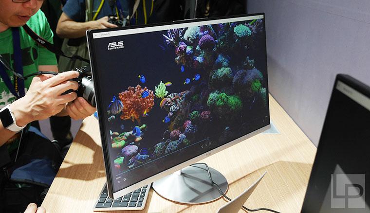 除了筆電,華碩在Computex還有這些新貨:兩款AiO、超薄框顯示器與Blue Cave路由器