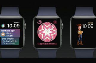 蘋果發表WatchOS 4.0:加入卡片介面與玩具總動員等新錶面 @LPComment 科技生活雜談