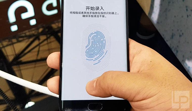 按螢幕就能掃指紋!採用高通超音波隱形指紋辨識的vivo工程機動手玩