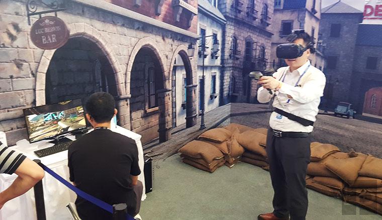 HTC Vive大規模參展上海MWC!帶來變形金剛5射擊遊戲等超多VR有趣應用
