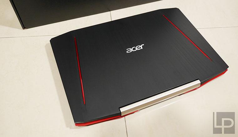 高CP值電競戰駒!Acer Aspire VX5-591G-57HE筆電開箱(七代i5HQ+GTX1050獨顯)