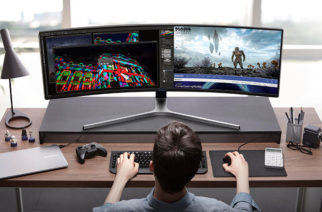 三星推出首款49吋32:9超寬曲面電競螢幕CHG90,另有32吋16:9曲面CHG70 @LPComment 科技生活雜談