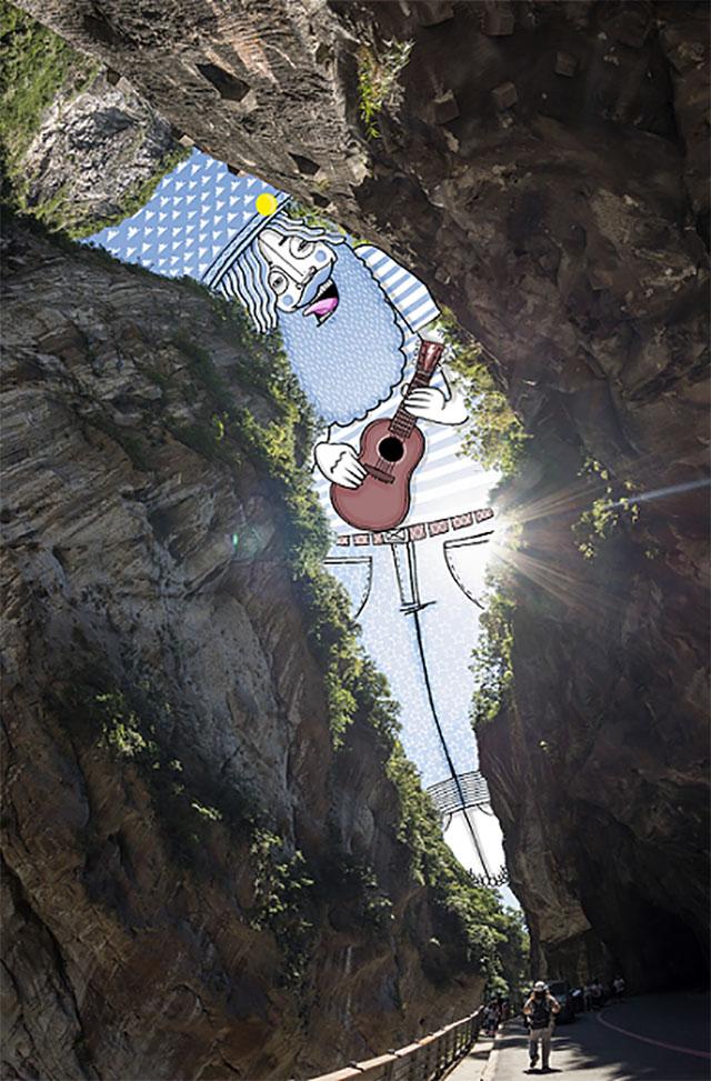 法「天空藝術家」來台,以在地美景搭配三星Tab S3、S Pen進行SkyArt創作