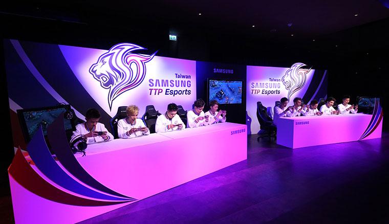 Samsung TTP Esports職業電競隊首度公開亮相,目標2017傳說對決職業聯賽奪冠