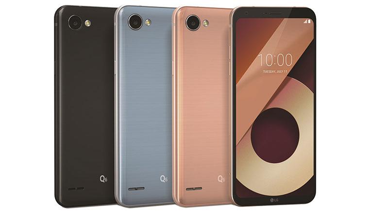 入門18:9全螢幕手機LG Q6在台推出,八千有找10/1開賣