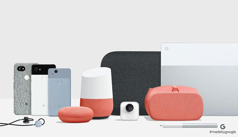 谷歌發表會還有這些:Google Home Mini / Max、Clips、Pixel Buds以及Daydream View改款