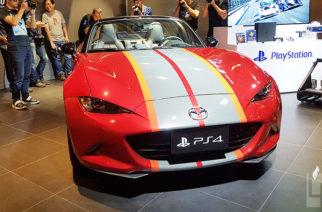 動眼看/全球僅一輛MAZDA MX-5魂動紅Gran Turismo Sport特別限量版 @LPComment 科技生活雜談