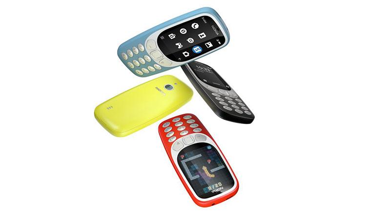 3G版Nokia 3310在正式在台推出,售價1990元