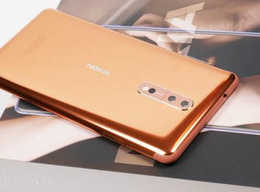 Nokia 8「光箔銅」開箱:超狂、超高調的誇張光澤感,太閃啦! @LPComment 科技生活雜談
