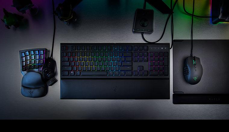 雷蛇推出Naga Trinity遊戲滑鼠及Tartarus V2 遊戲小鍵盤,針對MOBA與MMO設計