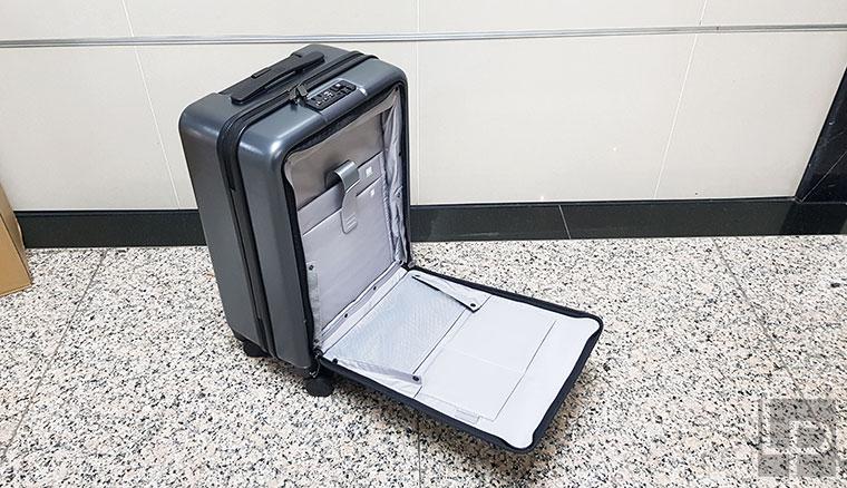 開箱/20吋小米米家90分輕商務登機箱:特殊快取夾層,機能性超強!