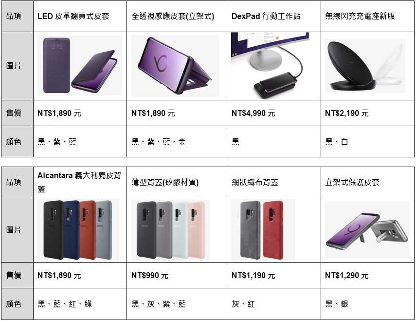 台灣上市資訊公布:三星S9、S9+定價25500、28900元起,3/16開賣!