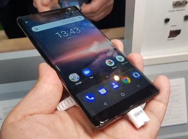 新諾基亞旗艦Nokia 8 Sirocco將於4/10在台發表 @LPComment 科技生活雜談