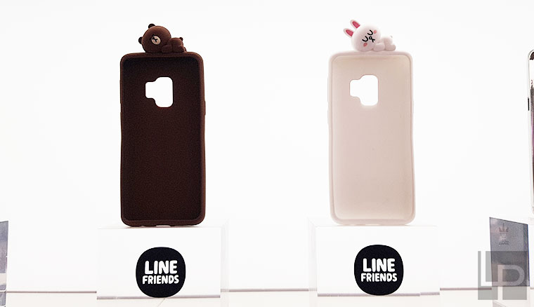 Samsung Galaxy S9與S9+配件動手玩!LINE FRIEND兔兔熊大保護殼好可愛
