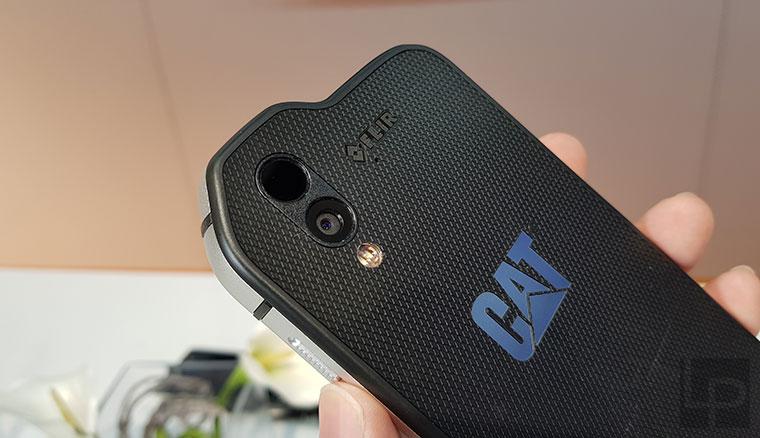 超多功能!Cat S61不僅支援FLIR熱像拍攝、FB直播,還能偵測空氣品質與雷射測距