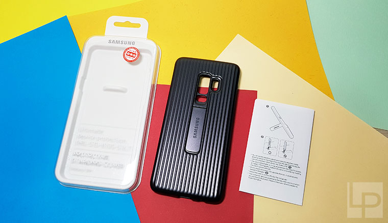 三星Galaxy S9+原廠立架式保護皮套開箱!軍規防護、內建立架,搭配高質感鋁殼行李箱造型