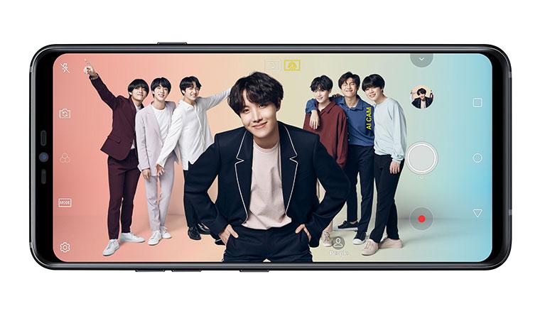 樂金宣布BTS防彈少年團為行通年度代言人,首波推廣LG G7+ThinQ新旗艦