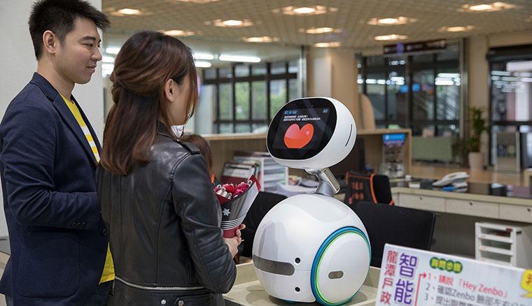 華碩Zenbo機器人進軍B2B市場,推出商務管理系統