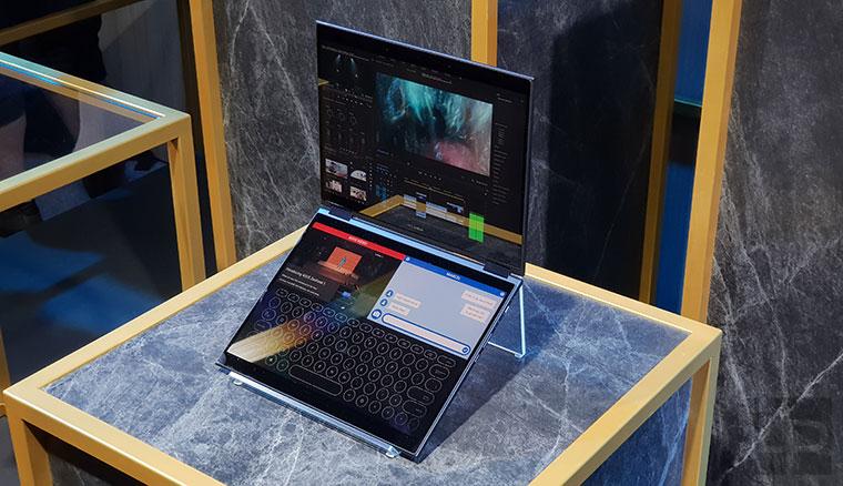 雙螢幕概念筆電:ASUS Project Precog實機動眼看