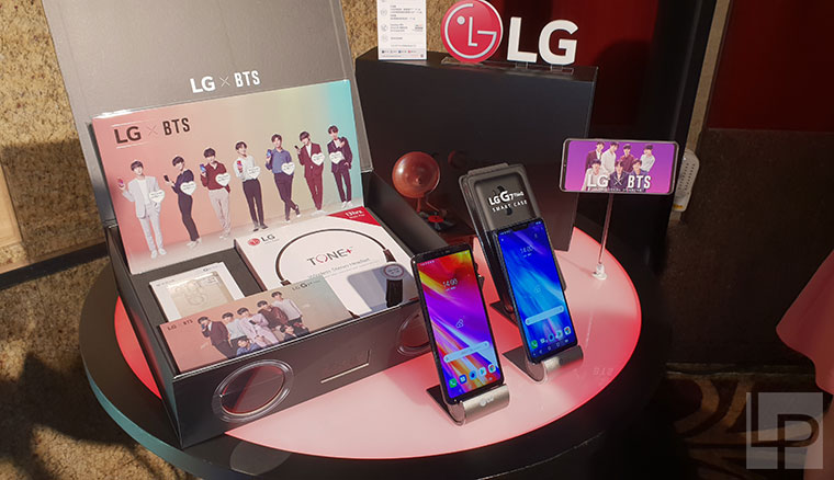 LG G7+ThinQ在台推出,預購抽BTS防彈少年團演唱會搖滾區門票