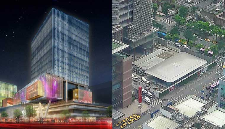 長得像超大MacBook!空拍照透露台灣首間蘋果直營旗艦店就在大遠百A13