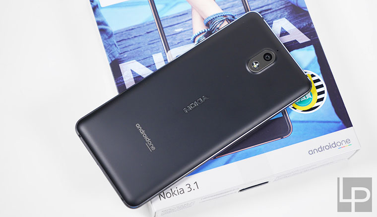 Nokia 3.1開箱實測:4千5有找、獨立三卡槽、Android One手機
